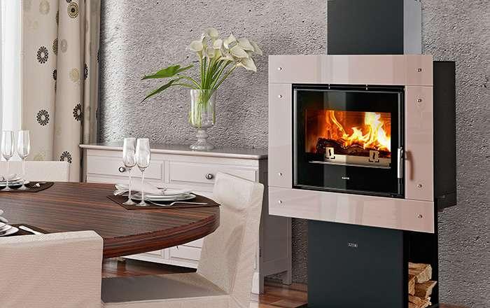 supra termo camini da arredo a legna. Black Bedroom Furniture Sets. Home Design Ideas